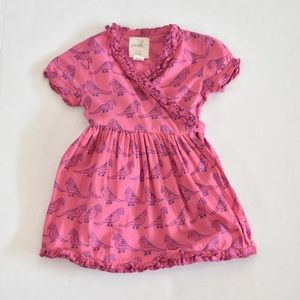 Peek kids wraparound dress